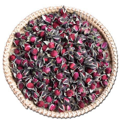 250g (8.82 Oz) Organic Red Rose bud Rose Buds Flower Floral Dried Herbal Health Chinese Tea(BIG SALE)