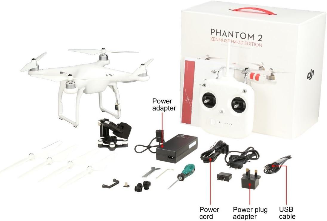 ZYGY 4PCS Protecteurs dH/élice D/émontable pour DJI Phantom 3 Phantom 2 Phantom 1 4K RC Drone Standard Professionel Drone