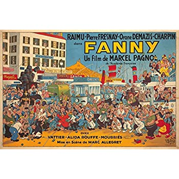 Amazon.com: Fanny Vintage Poster (artist: Dubout, Albert ...