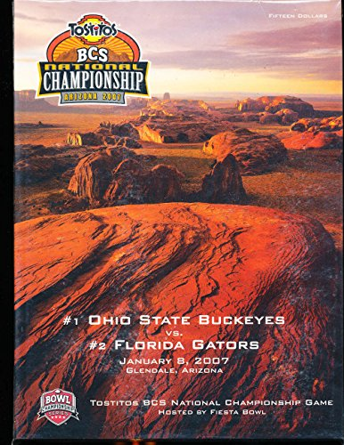 2007 Ohio State vs Florida BCS Championship Program ()