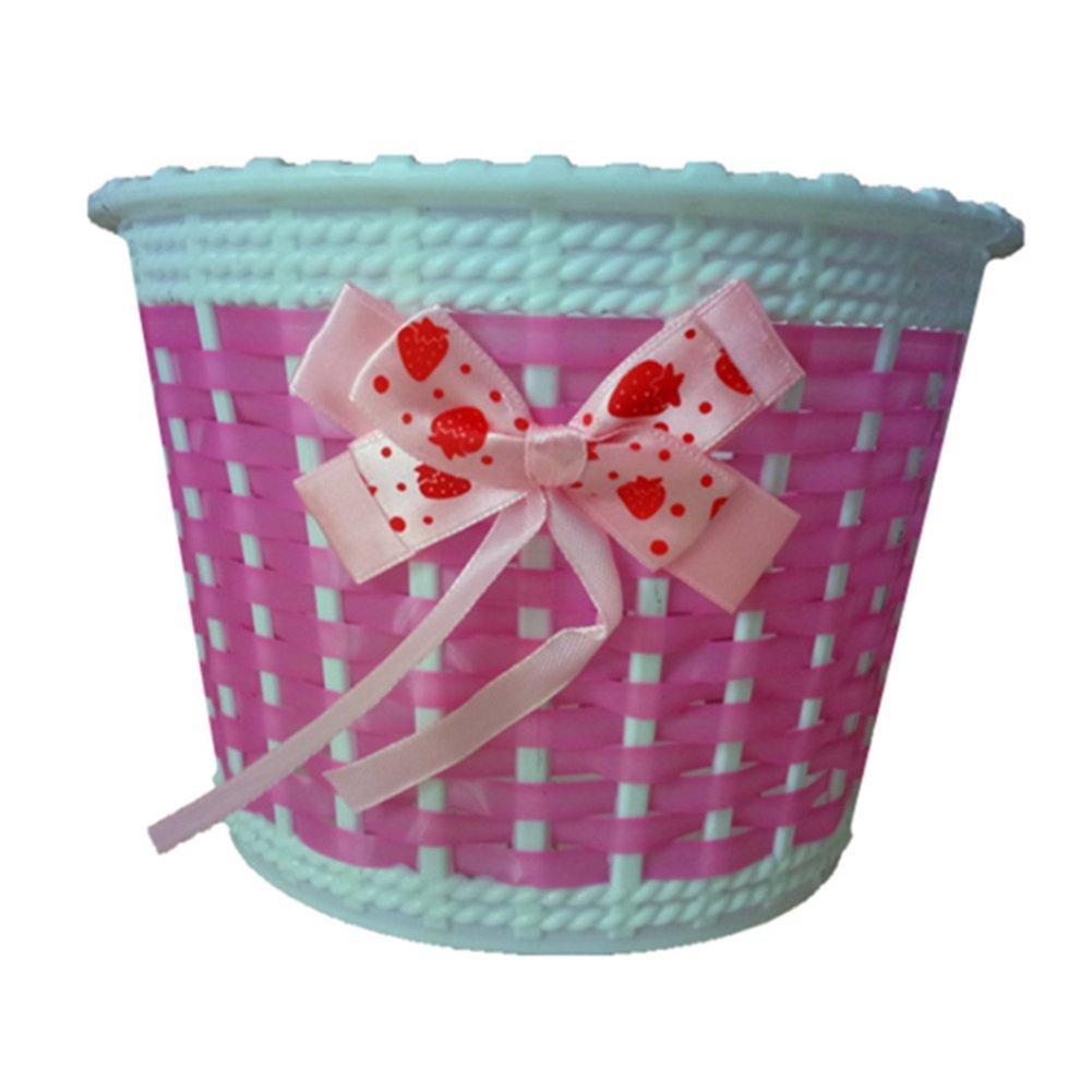 Da WA bicicleta cesta de flores cesta de mimbre cesta bicicleta ciclo de pl/ástico para ni/ños ni/ños ni/ñas