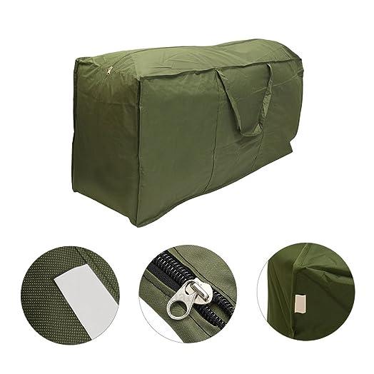 Patio Furniture Cushion Storage Bag, Waterproof Lightweight Carry Handbag  For Outdoor Garden Cushion Pad