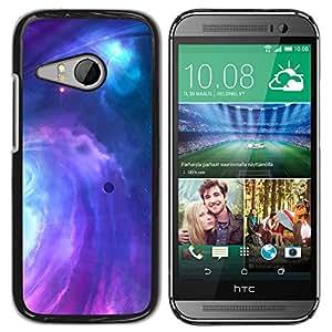 Planetar® ( Lightening Purple Majesty ) HTC ONE MINI 2 / M8 MINI Fundas Cover Cubre Hard Case Cover