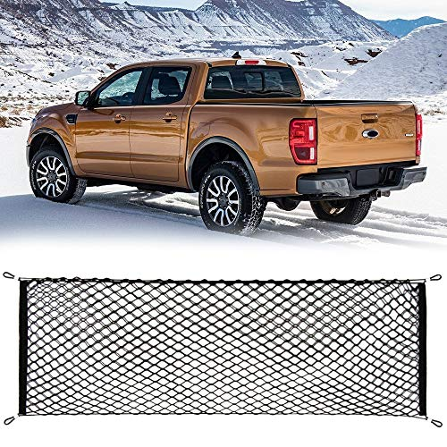 Cargo Net Stretchable Truck Net for Toyota Tundra 2015 2016 2017 2018 2019