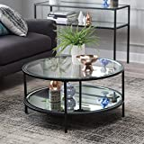 Lamont Round Coffee Table - Black
