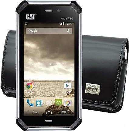 MTT – Funda para/Caterpillar CAT S50/Horizontal piel, cierre de ...