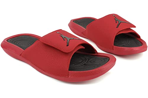 a511d97d7caf Nike Jordan Mens Jordan Hydro 6 Sandal Gym RED Black Size 7  Buy Online at  Low Prices in India - Amazon.in