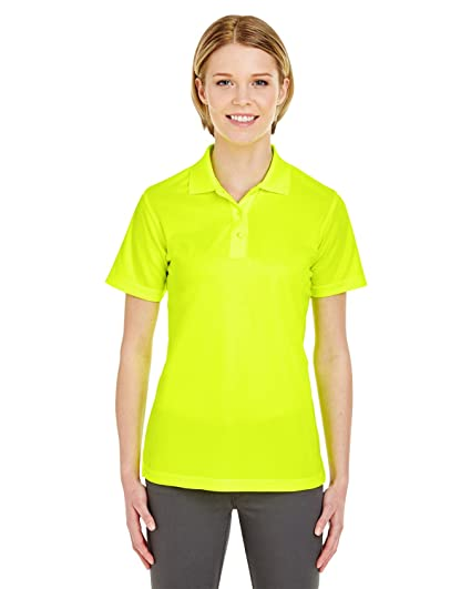 4318bb8b UltraClub Cool & Dry Women's Moisture Wicking Mesh Polo Shirt at Amazon  Women's Clothing store: