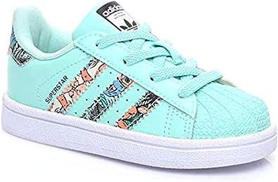 Patrocinar debajo mal humor  adidas Superstar EL I Zapatillas Niño Azul, 22: Amazon.es: Zapatos y  complementos