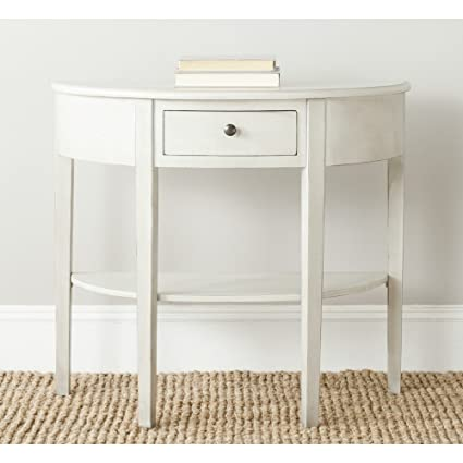 Safavieh American Homes Collection Abram White Birch Console Table
