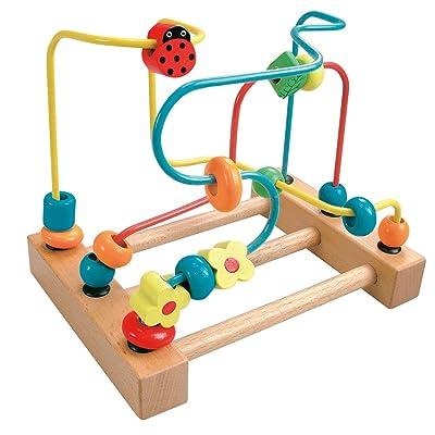 Bino- Laberinto con Mariquita (84184): Juguetes y juegos
