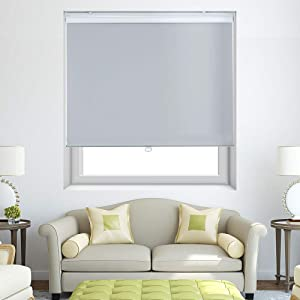Persilux Roller Window Shades Cordless Window Blinds (28