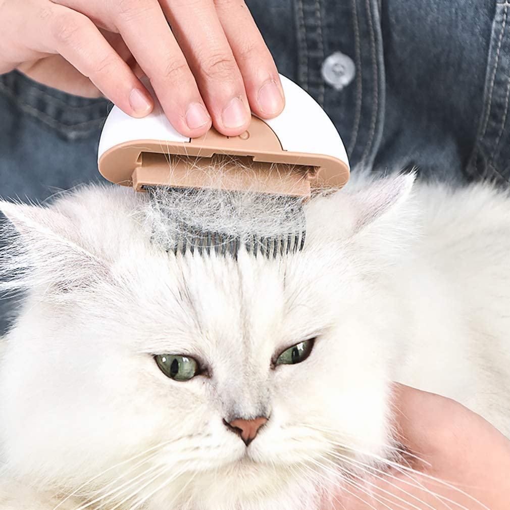 Noband L.W LW cat Comb cat Brush,Dog Brush,Shedding Tool,Deshedding Brush /& Massage Comb 2 in 1,Effectively Remove 95/% Mats Tangles Fur /& Dirt for Short Long Haired Puppy /& Cats