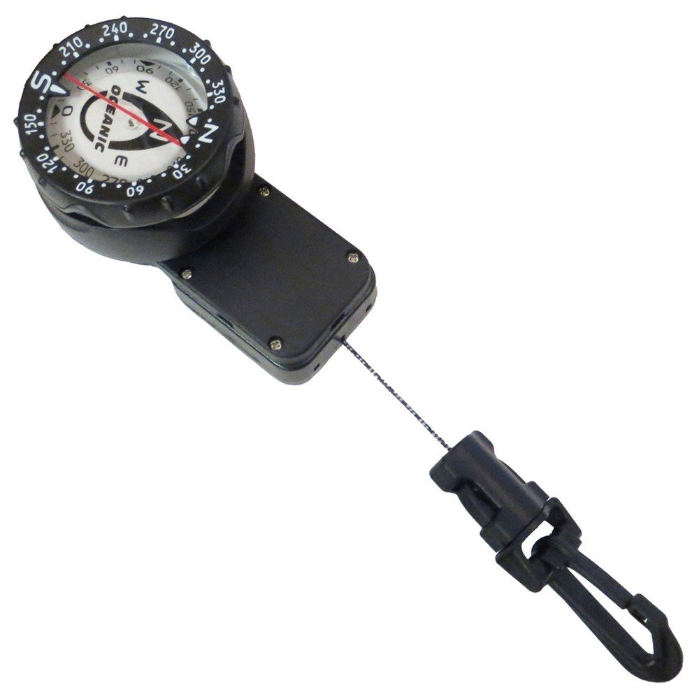 New Oceanic Compass Mounted on a 32 Inch Retractor