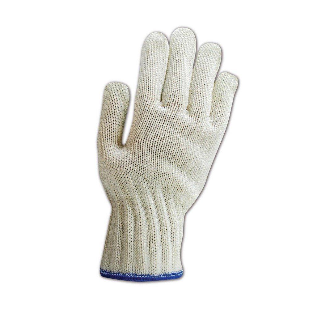 Wells Lamont Whizard Wire Heavy Duty Slipguard Gloves, ANSI Cut Level 5, White/Green, Polyurethane Coating, Left Hand Only, XXS (1 Glove)