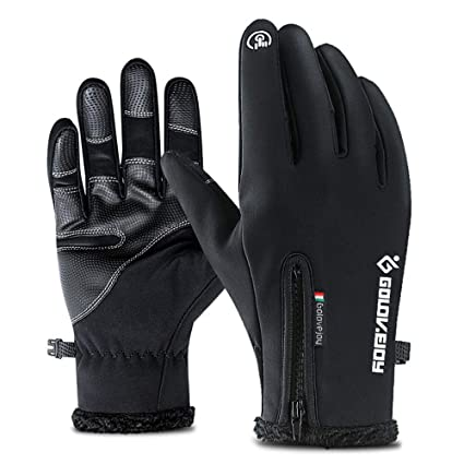 46cacd11ff15c NOBIE, Winter Warm Gloves, Waterproof, Thick, Touch Screen, Wearable, to