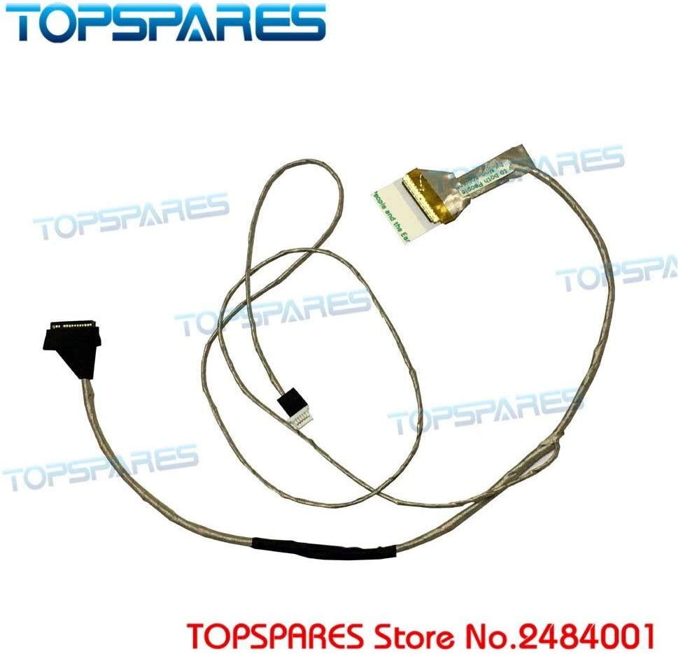 Computer Cables Laptop Display Cable for Toshiba Satellite C650 C655 C655D P//N 6017B0265501 Screen Video Flex Cable Cable Length: 6017B0265501