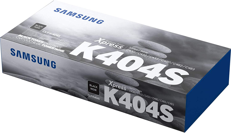 Samsung Clt K404s Schwarz Original Toner Bürobedarf Schreibwaren