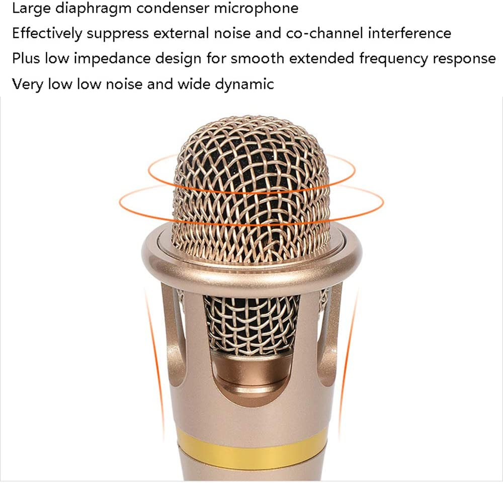 iOS Android WP Smartphone ZDDAB Portable Karaoke Speaker electronic product Condenser Microphone