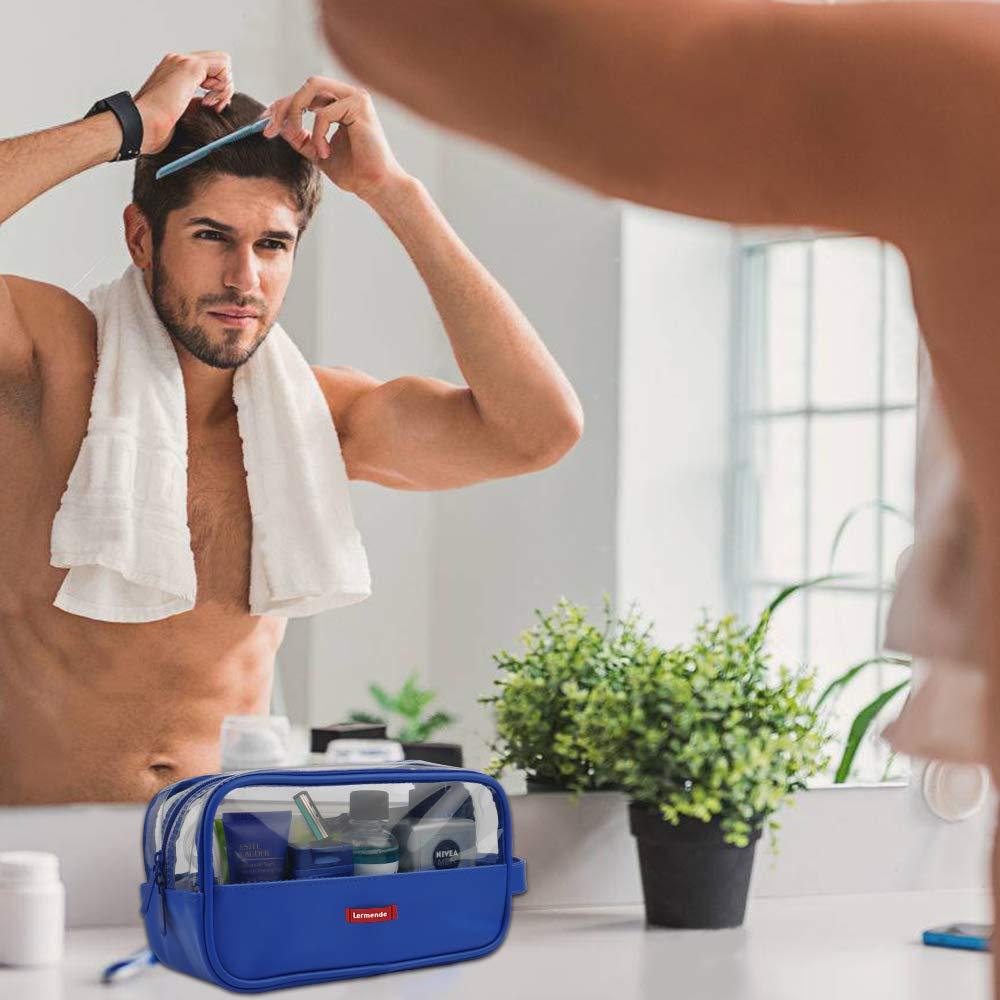 Hygiene Shaving bag Water Unisex Toiletries Bag Hanging Wash Storage Bag Bathroom Accessories Kit Lermende Travel Toiletry Bag Dopp Kit For Men or Women