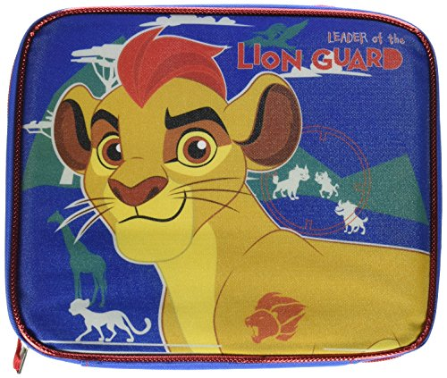 Fast Forward LGCOR01ZA Lion Guard Rectangular Lunch Bag, Blue