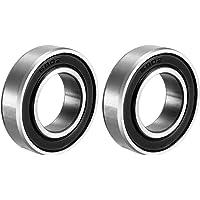 Sourcingmap 6902RS - Rodamientos de bolas de doble