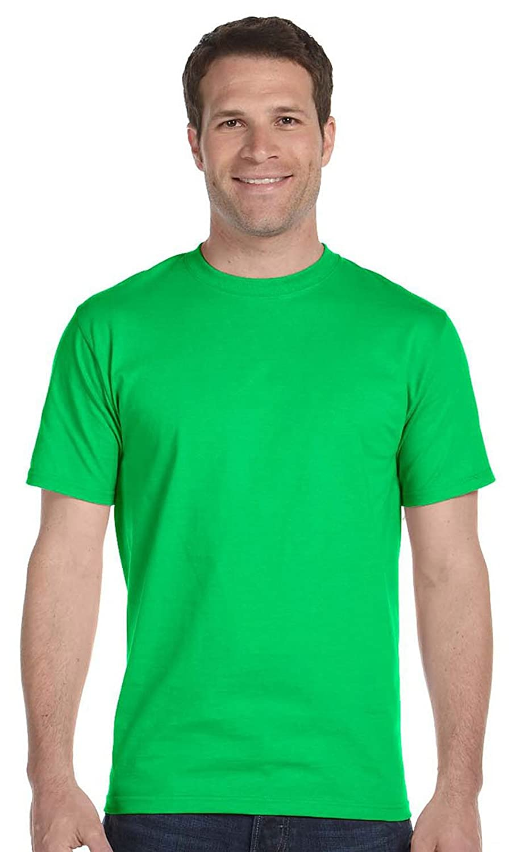 50/50 Ultra Blend Tee Shirt, Color: Gold, Size: XXXXX-Large