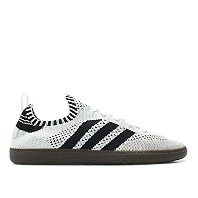 new arrival 51d46 80733 adidas Men Samba Primeknit Sock White core Black Bluebird Size 9.0 US