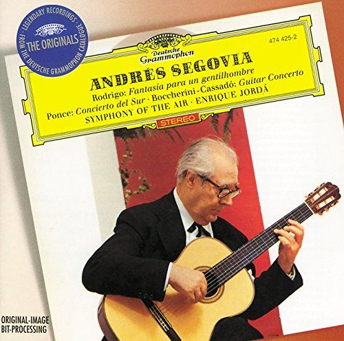 - Andrés Segovia: Rodrigo / Ponce / Boccherini