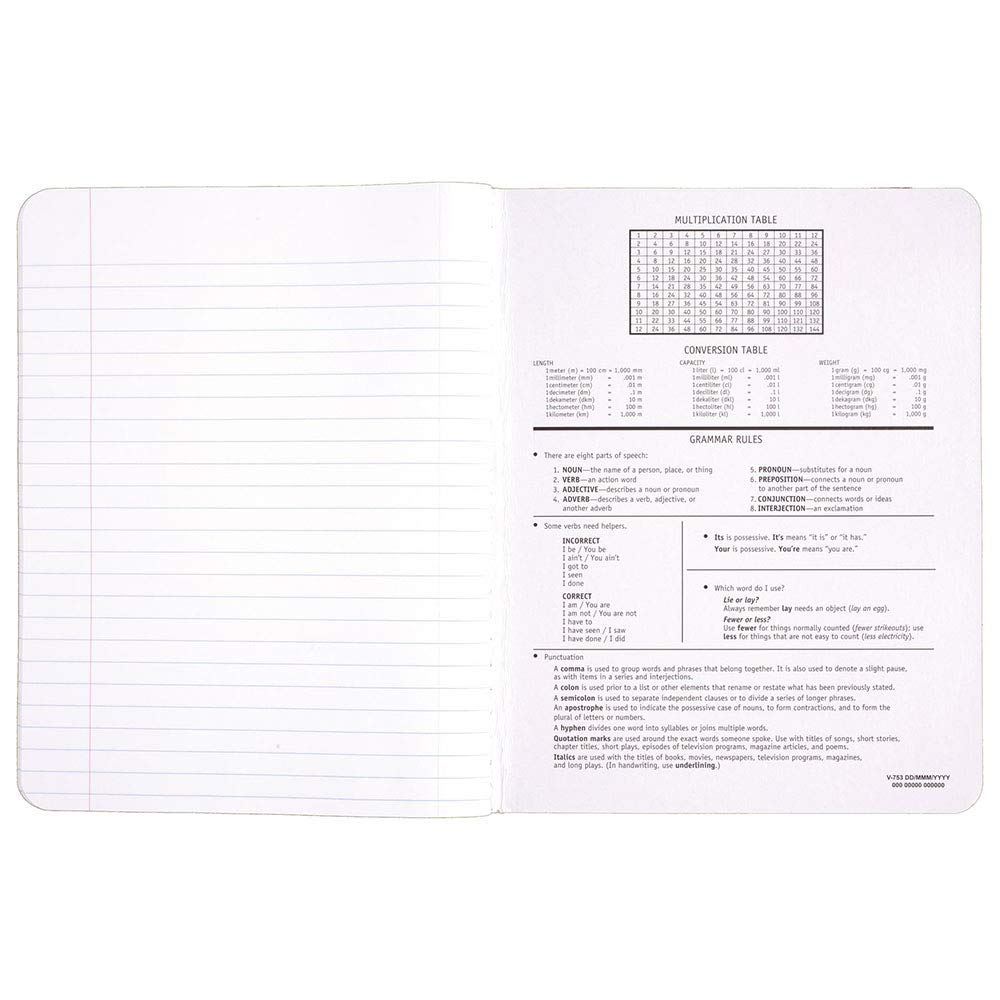 Mead NCVBHDGH Composition Book/Notebook, Wide Ruled Paper, 100 Sheets (09910) 36 Pack by  (Image #4)