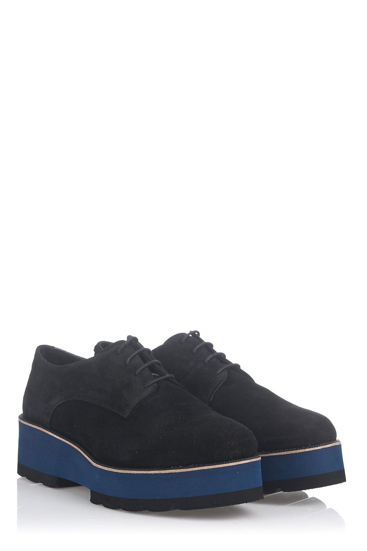 Laura Moretti Damen Bugy Shoes Schuhe39 EU|Schwarz