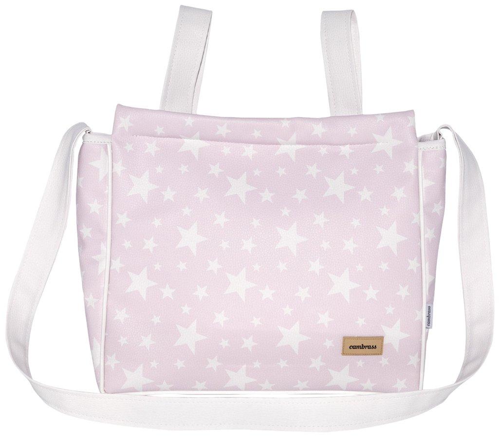 Cambrass Etoile - Bolso maternal panadera para carro bebe, 13 x 40 x 33 cm, color rosa 39456