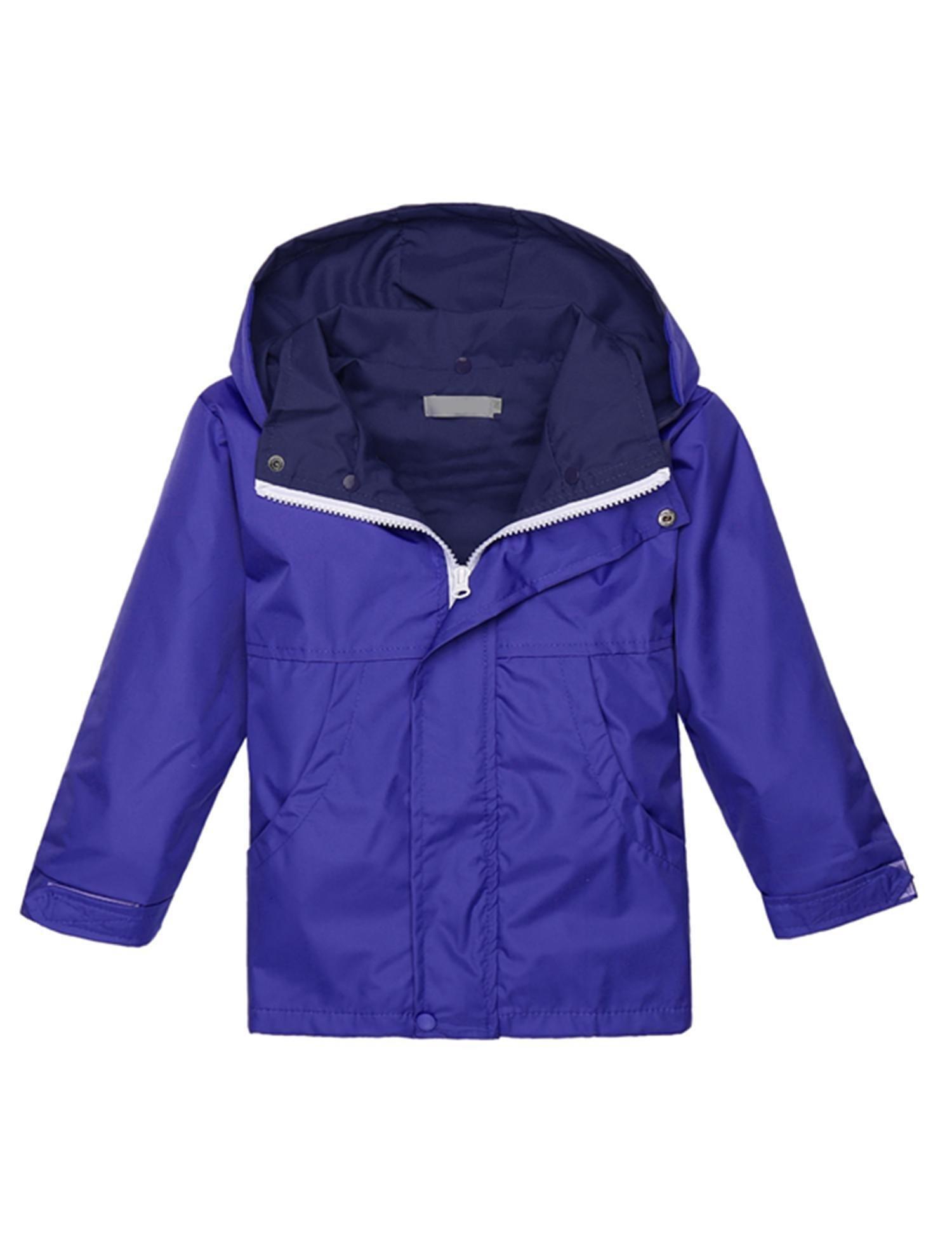 Corgy Baby Kid Girl Waterproof Hooded Coat Jacket Outwear Raincoat Hoodies by Corgy