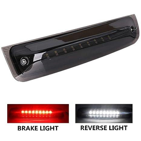 Kansmart Led 3rd Brake Light Fit For Dodge Ram 1500 2500 2011 2016 2010 Dodge Ram 1500 2500 3500 Reverse Lamp High Mount Tail Light Smoke Lens