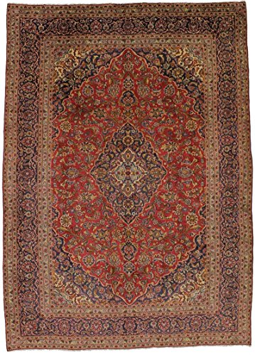 - Traditional S Antique Handmade Kashan Persian Style Rug Oriental Area Carpet 9'5X13'4
