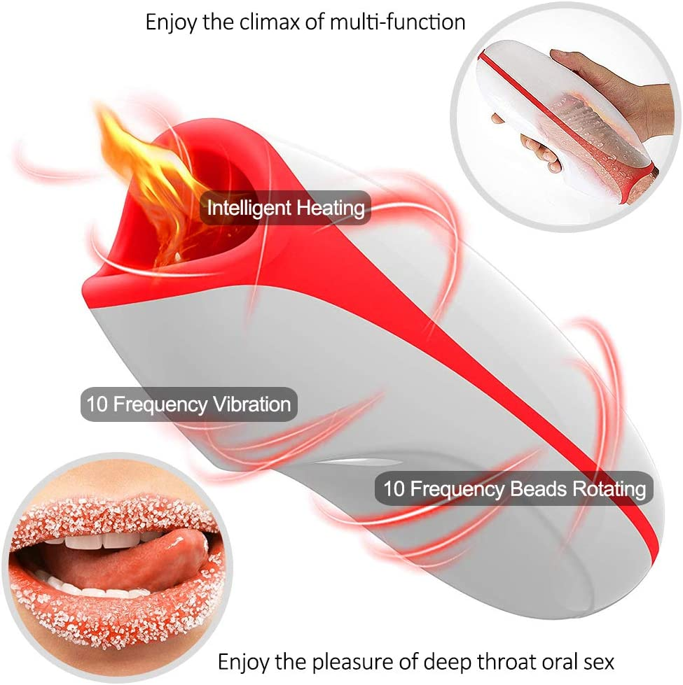 Automatic Telescopic Piston Hands Free Rotate Six Toys Men Underwear Vibrating 10 Modes Electric Massager Automatic Massager Cup Products Male Mastubratìon Cup with Heating T-Shirt