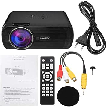 U80 7000 LM Proyector Digital Portátil HD 1080P Proyector LED Mini ...