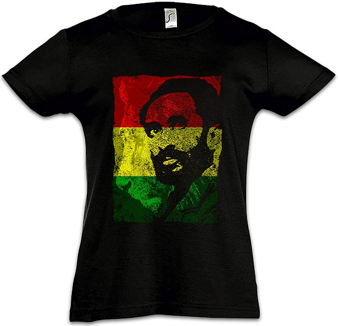 Urban Backwoods Haile Selassie Portrait III Kids Girls Children T-Shirt