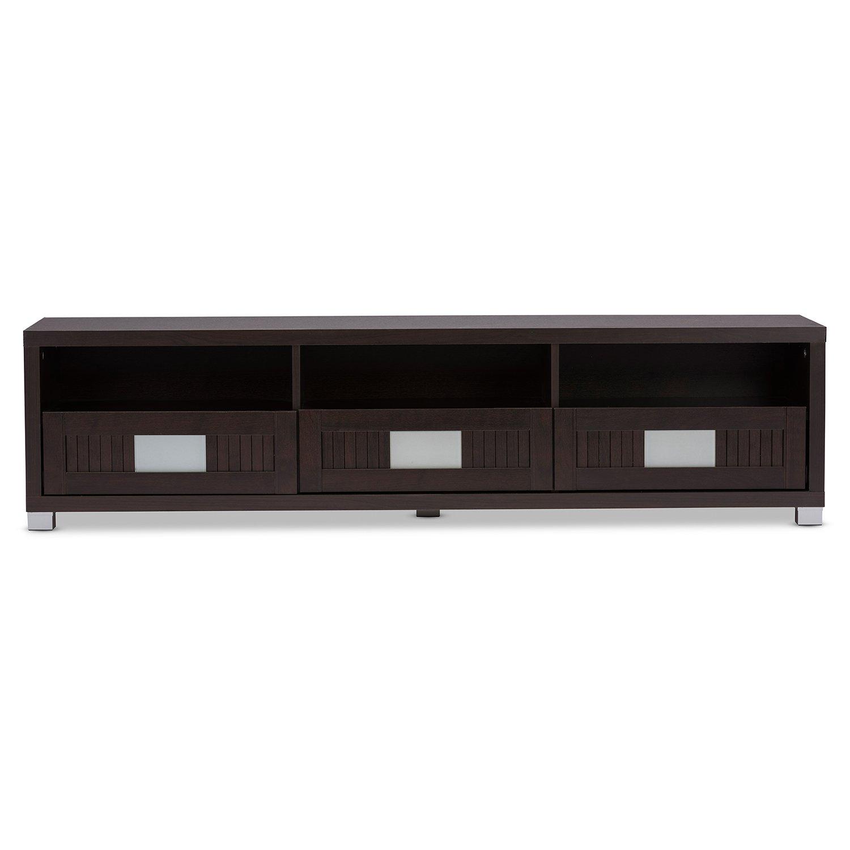 Amazon Wholesale Interiors Baxton Studio Gerhardine Wood TV