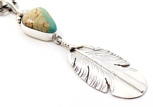Amazon com: L7 Enterprises Turquoise & Silver Feather