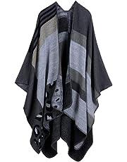 Queen Dresses Unisex Plaid Blanket Scarf Winter Soft Tassel Scarfs Gorgeous Wrap Shawl