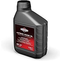 Briggs & Stratton 100004E 4-takt grasmaaier motorolie SAE30, 500ml, zwart, 0,5 liter