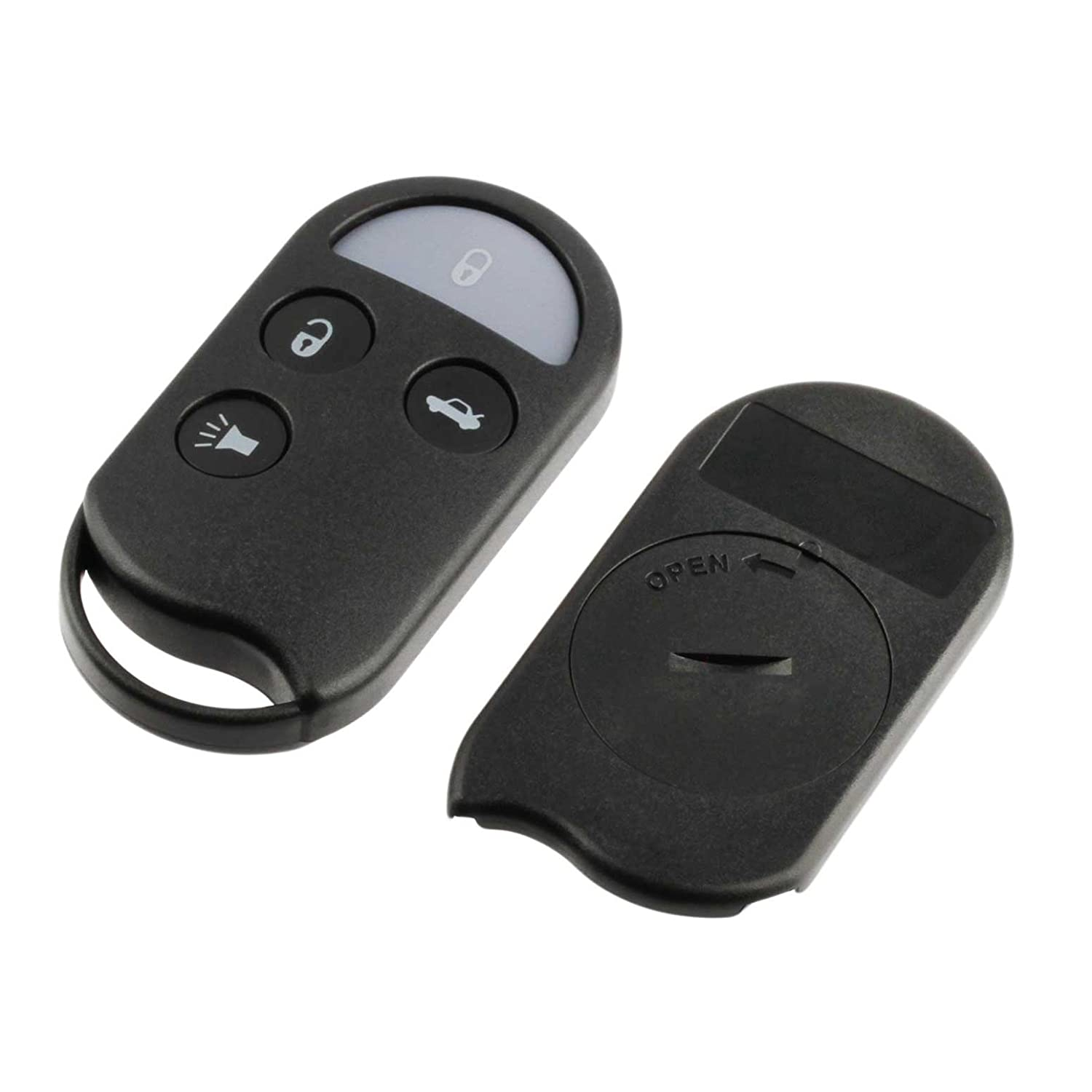 2 Car Key Fob Shell Case Pad For 2002 2003 2004 2005 2006 2007 Buick Rendezvous