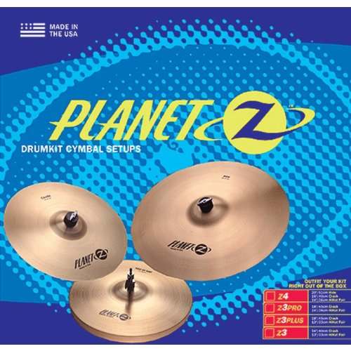 ZILDJIAN PLANET Z - 13 & 16 Becken Becken Sets 127033