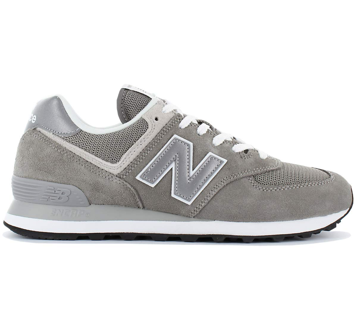New Balance Mens 574 Sneaker,Grey, 8 D(M) US