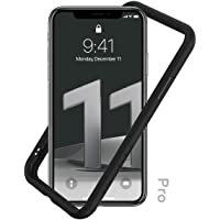 RhinoShield Bumper Case for iPhone 11 PRO CrashGuard NX - Shock Absorbent Slim Design Protective Cover 3.5M/11ft Drop Protection - Black