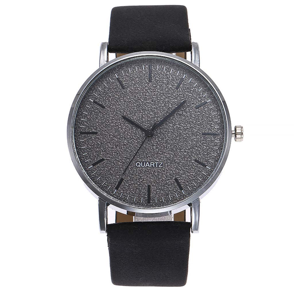 Fashion Starry Sky Stainless Steel Mesh Belt Watch Casual Analog Watch Present Hot!! Outsta for Women Girls Gift (Black)