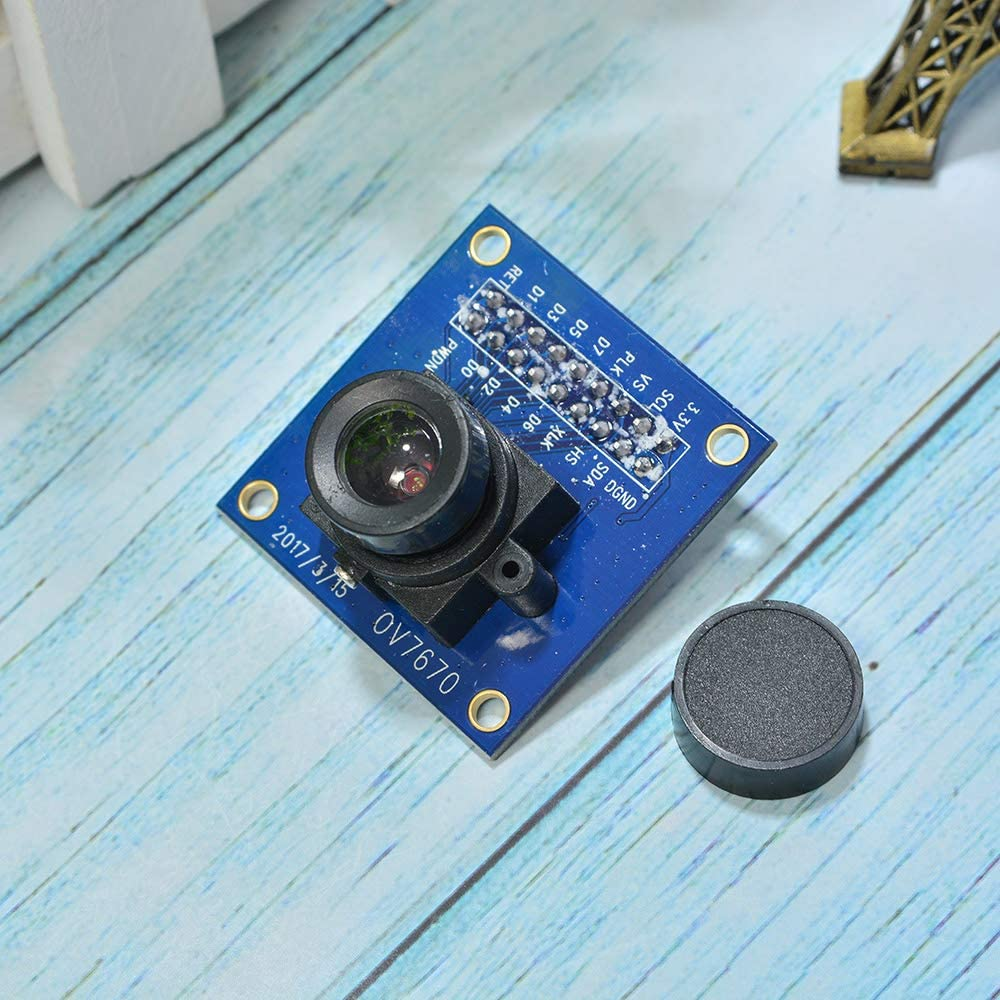 Comimark - Módulo de cámara VGA OV7670 CMOS, 640 x 480 SCCB I2C ...