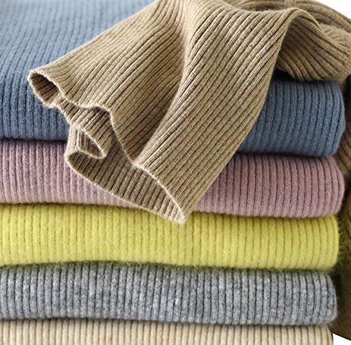LONGMING Women's Turtleneck Sweater (Small,Tan) (Tan Sweater Turtleneck)