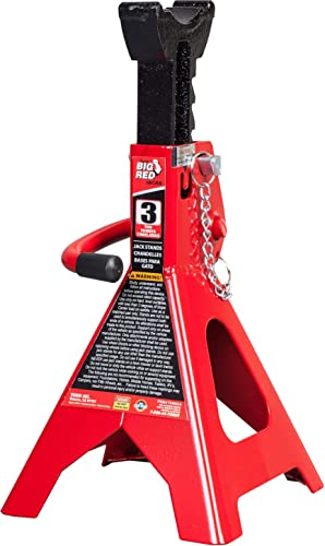 BIG RED T42002A Torin Steel Jack Stands: 2 Ton